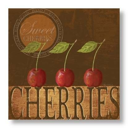 Sweet Cherries by Kathy Middlebrook
