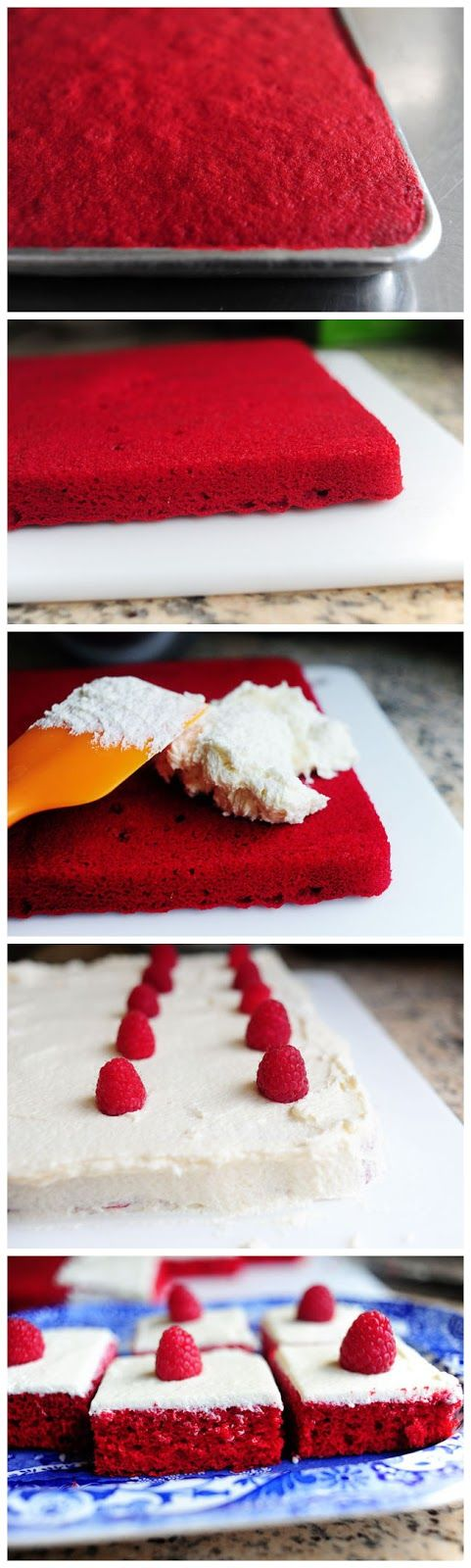 Red Velvet Sheet Cake | Cakes | Pinterest