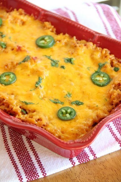 Mexican Rice Casserole | Food!!! (that will make you fat!) (nom) | Pi ...