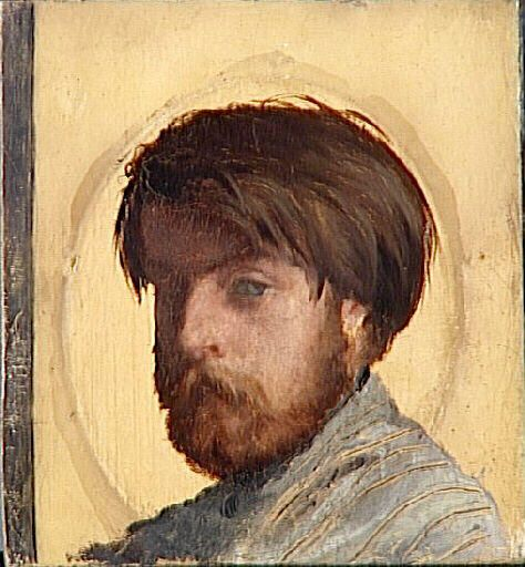 Retrato de Auguste Toulmouche de Jean-Louis Hamon