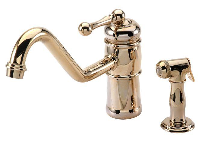 victorian kitchen faucet and hand spray procurement