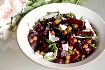 Roasted Beet Salad With Ricotta Salata And Pistachios Recipes ...