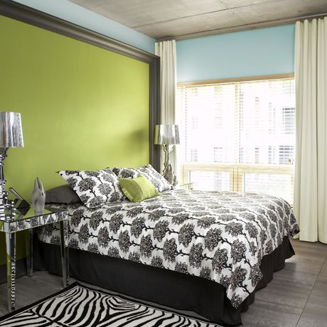 Green Accent Wall Beauteous Of Accent Wall Ideas Picture