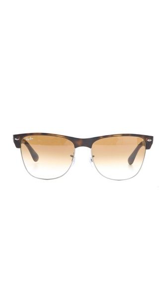 ray ban oversized two tone clubmaster sunglasses  ray ban oversized two tone clubmaster sunglasses