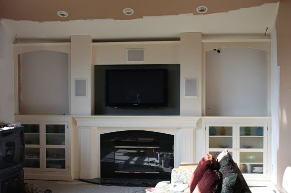 fireplace built ins for the home pinterest