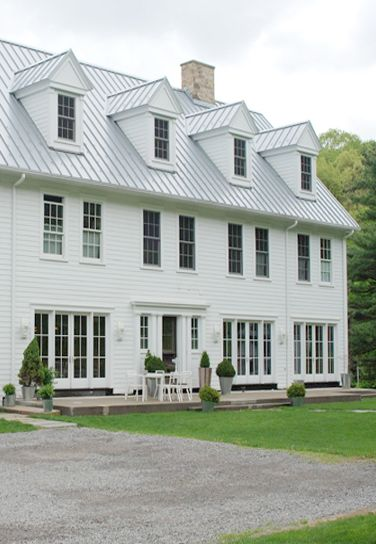 Best White Metal Roof White House Roofing Pinterest 400 x 300