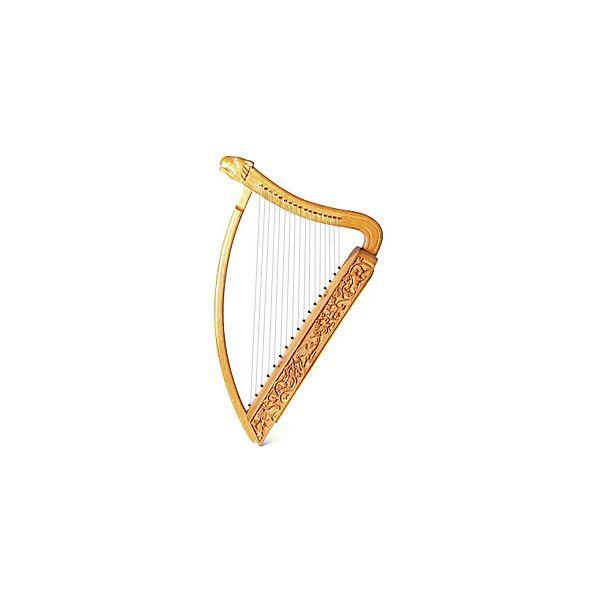 Harp - free clip art - Dorling Kindersley ($9.66) liked on ...