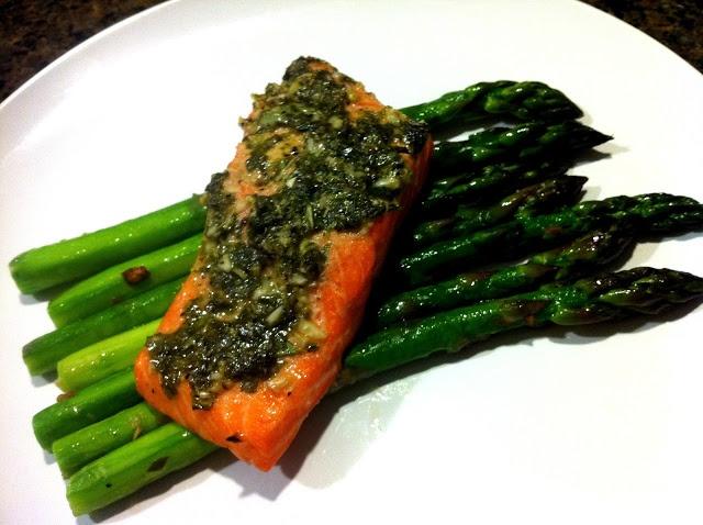GARLIC BASIL SALMON | Recipes-Fish/Seafood | Pinterest