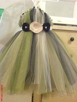 DIY Flower Girl Tutu Dress!!! Super Cute!!!