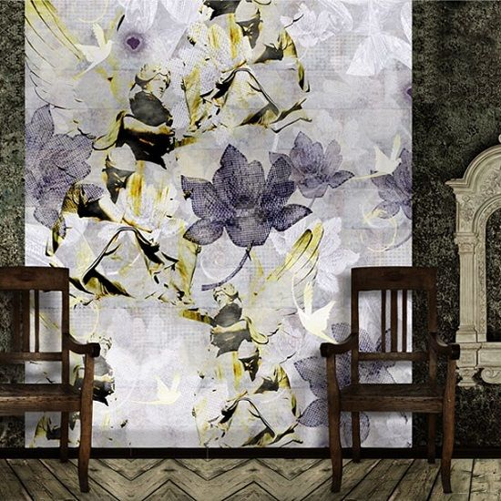 All things british wall murals home and garden pinterest for Angel wall mural