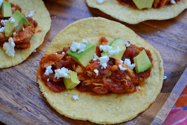 Chicken Tinga Tacos | Appetizers & Snacks | Pinterest