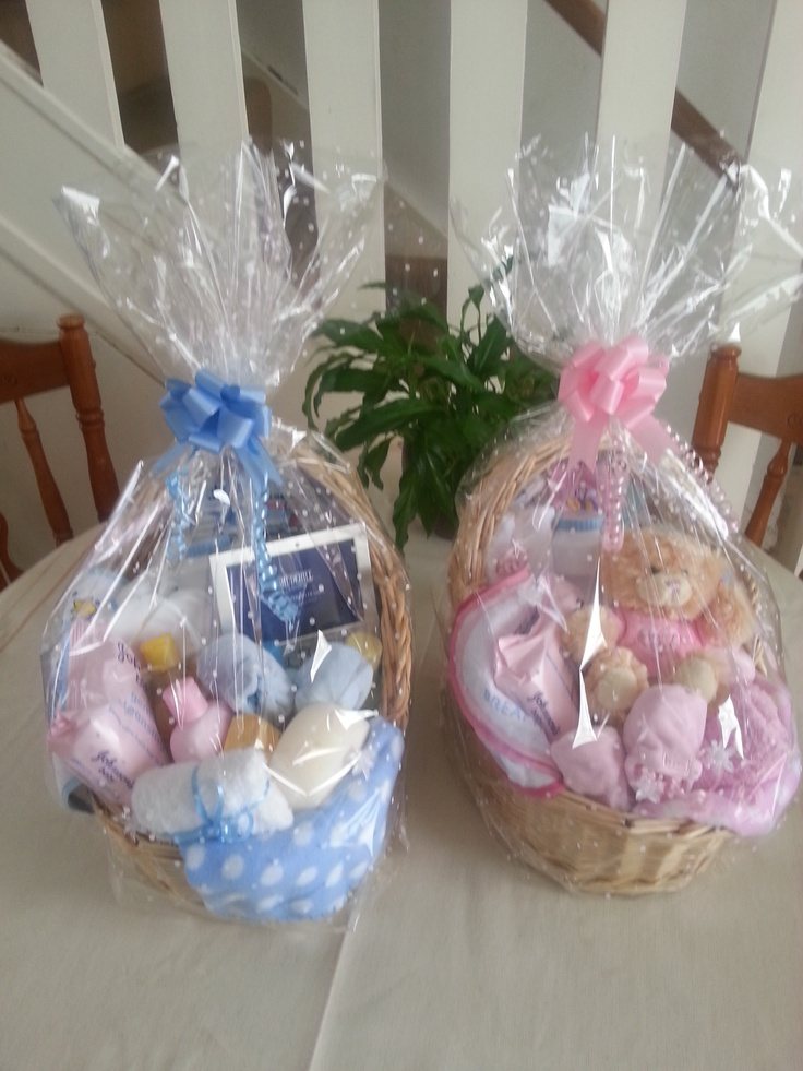 New Baby Gift Wrapping Ideas : New born baby gift baskets ideas