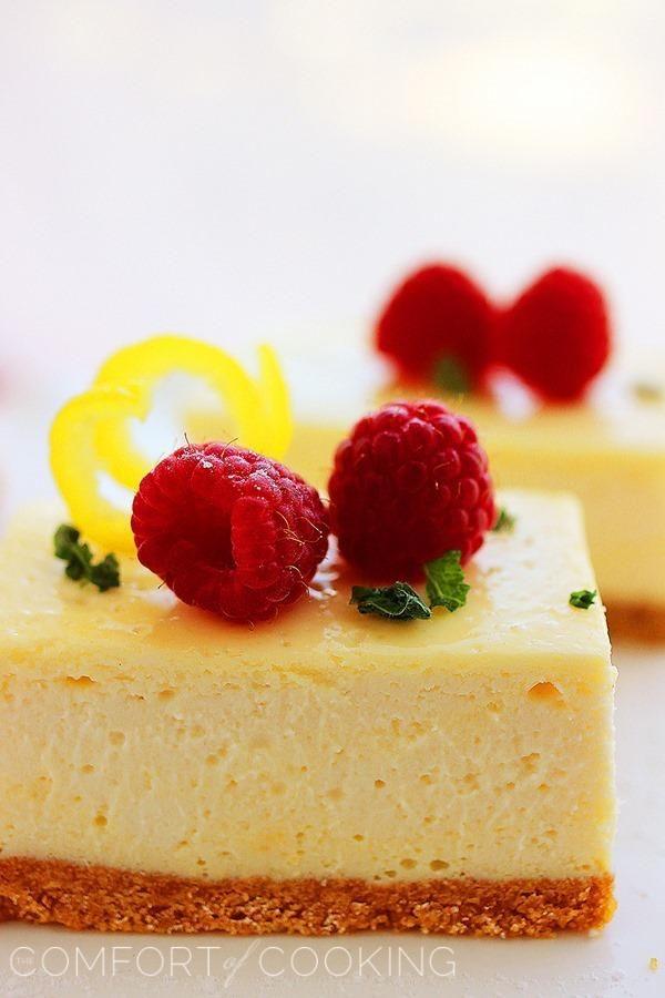 The Comfort of Cooking » Lemon Cheesecake Bars