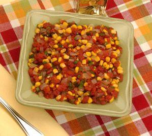 Corn, Tomato and Sweet Onion Salad | Salad Recipes | Pinterest