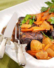 Braised Short Rib, Stout, and Potato Potpies | Recipe