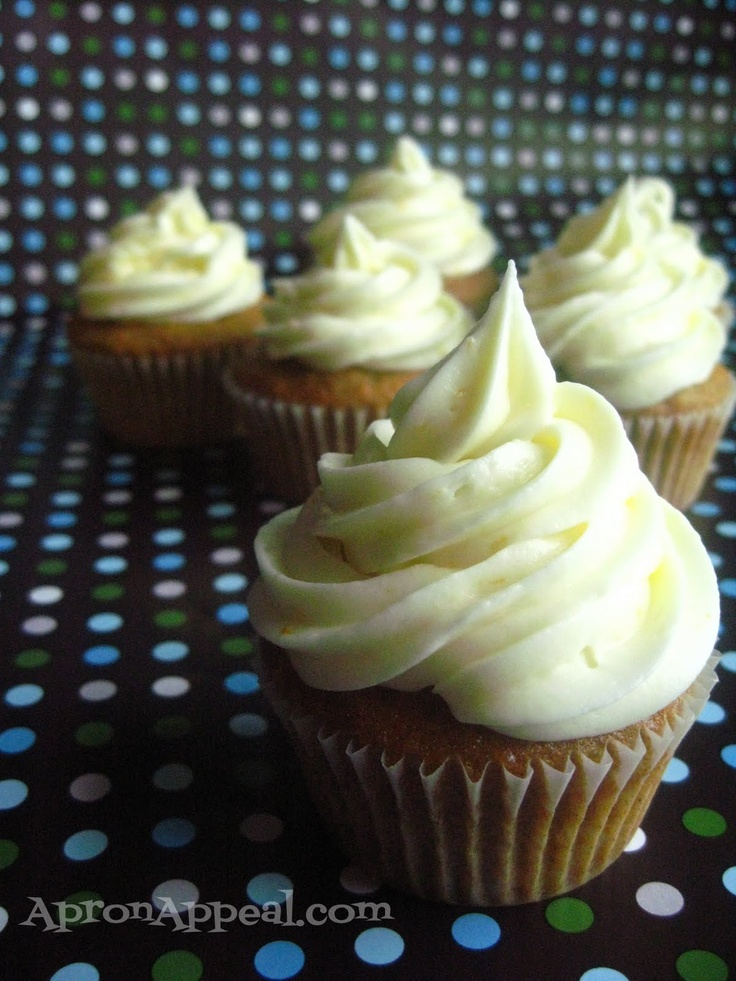Carrot Ginger Cupcakes with Orange Cream Cheese Frosting | Muffins ...