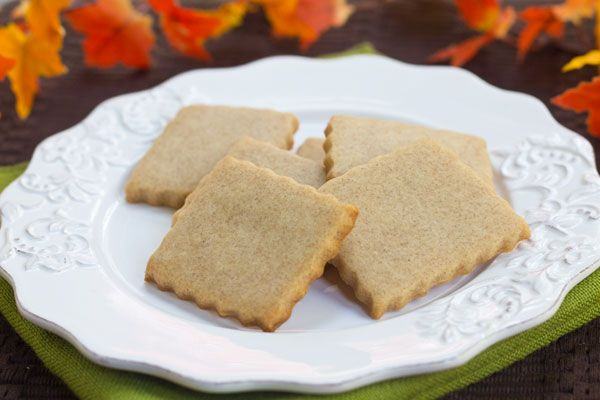 Honey Cinnamon Shortbread | Freak of the Week | Pinterest