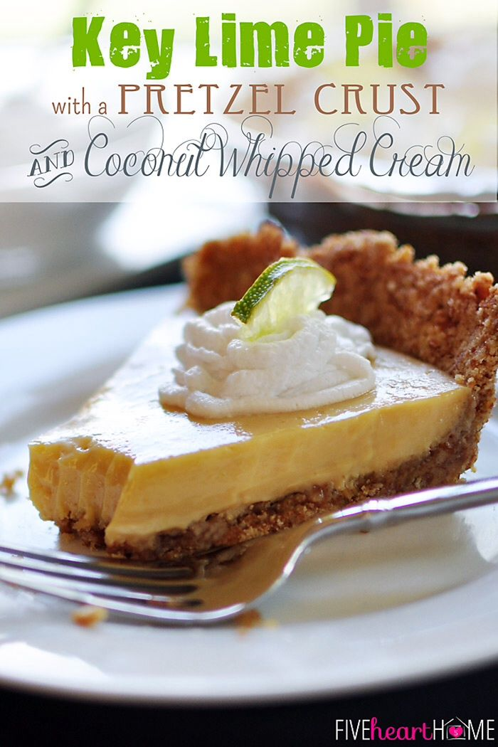Key Lime Pie. Unless you swap out the traditional graham cracker crust ...