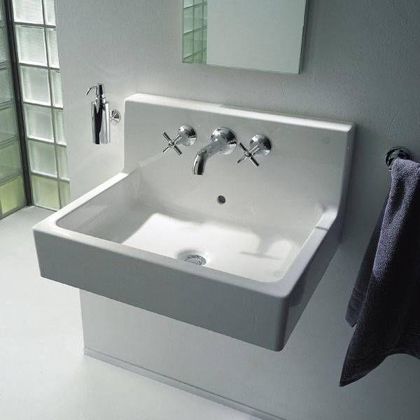 Duravit 045360-00-00-1 Vero Wall Mount Bathroom Sink