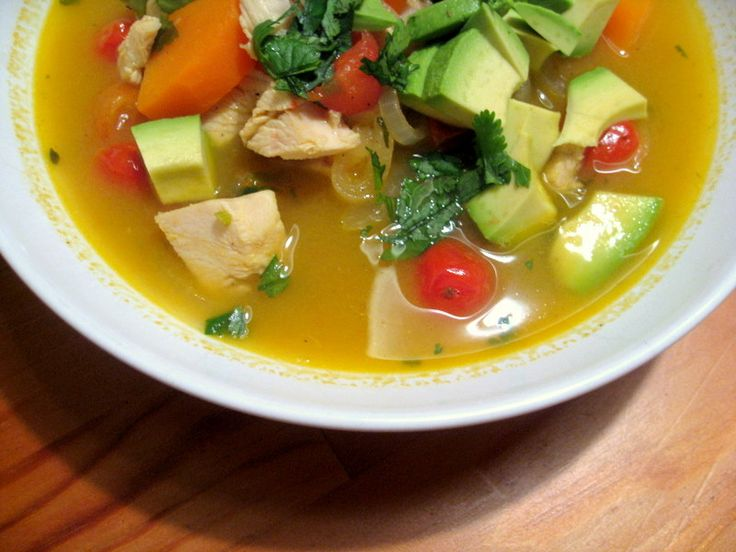 Roasted Chicken Soup | Foodie :: soup :: | Pinterest