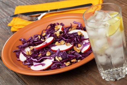 Warm red cabbage salad | Recipes | Pinterest