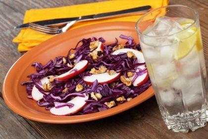 Warm red cabbage salad | Recipes | Pinterest