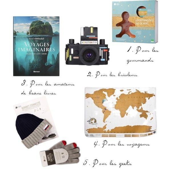 Livre gourmandise carte du monde bonnet gants tactiles appareil photo Konstruktor Lomo Nature et Découvertes