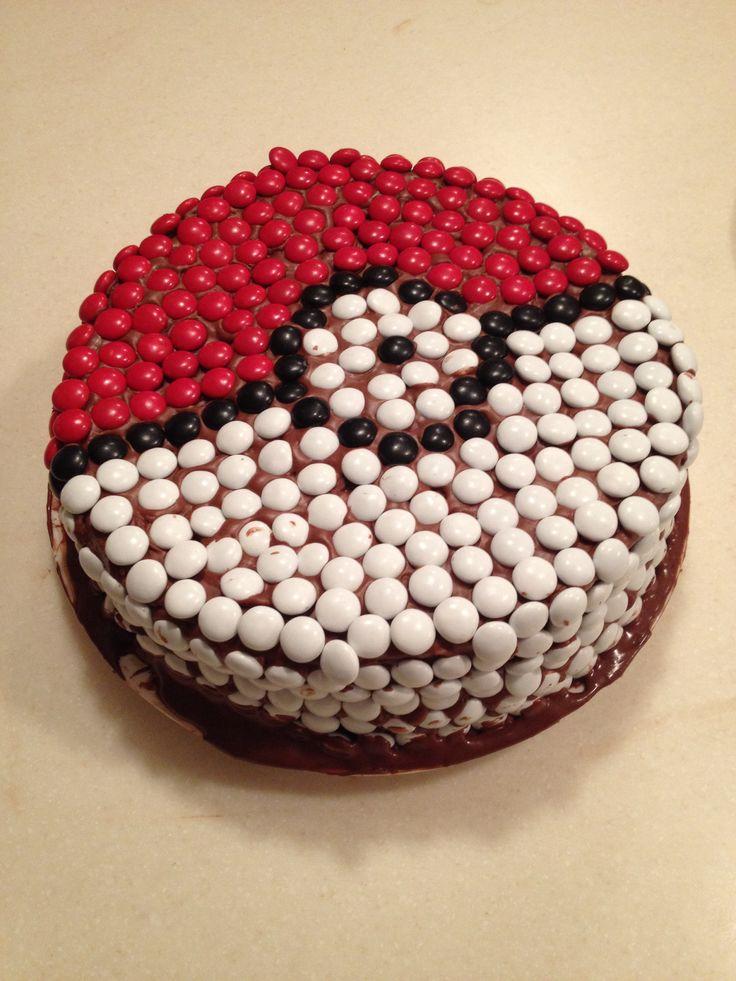 Pin Pokeball Cake Cake on Pinterest