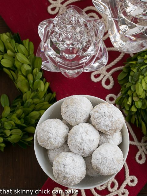 Toffee Noel Nut Balls (Mexican wedding cookies) made extraordinary by ...