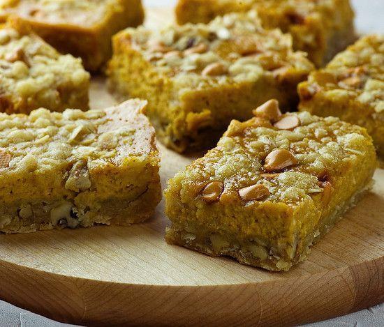 Pumpkin Pie Bars | Recipe