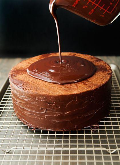chocolate cassata cake | foods / feasts | Pinterest