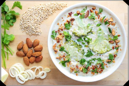 Oatmeal and Coconut Soup | Savouries | Pinterest
