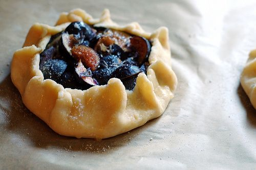Fig and Lavender Goat Cheese Galettes