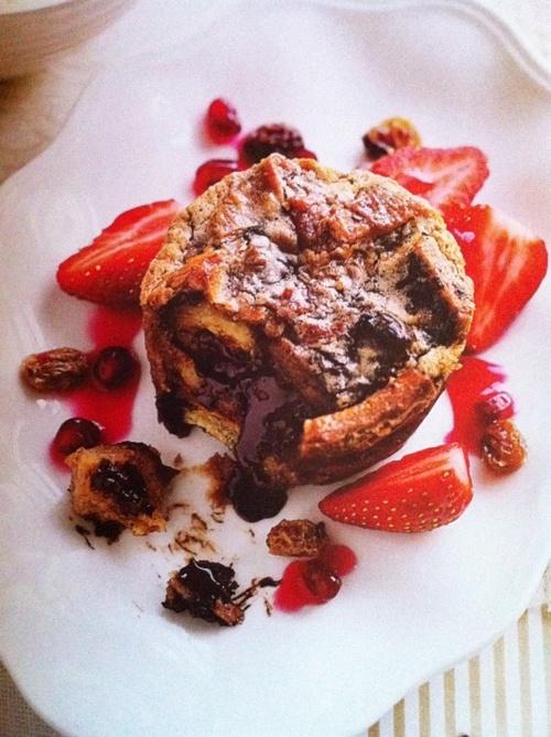 Chocolate Hazelnut Croissant Pudding | Chocolate o_O | Pinterest