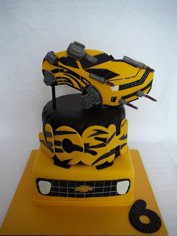 Bumblebee Transformers Cake Ideas 45406 Bumblebee Transfor