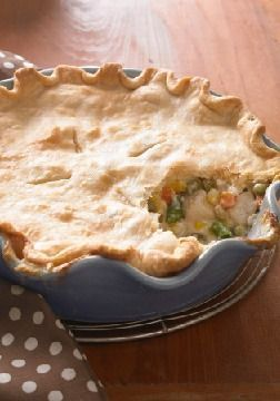 Deep-Dish Chicken Pot Pie – A flaky crust surrenders to a warm ...