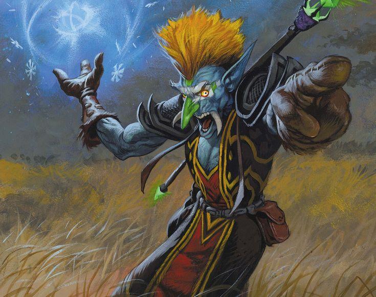 Troll Mage   World of Warcraft   Pinterest