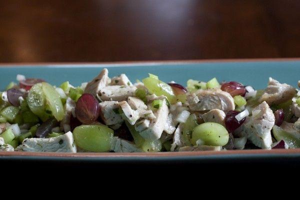 Honey-Tarragon Turkey and Grape Salad | Recipe