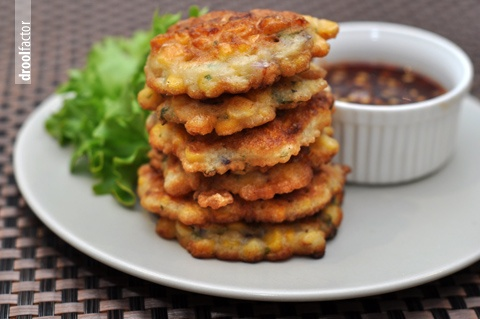 "Spicy Corn Fritters | Vegan Burgers/""Meat""/Pizzas 