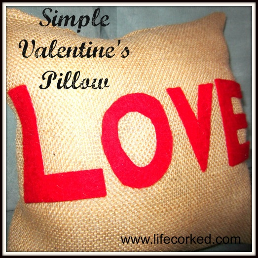 valentine day gift pillow