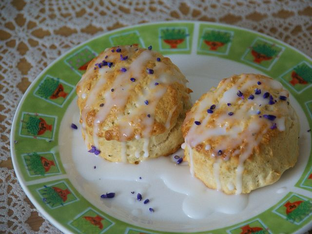 Lavender Scones by Home Baked Online - have to make the English ...