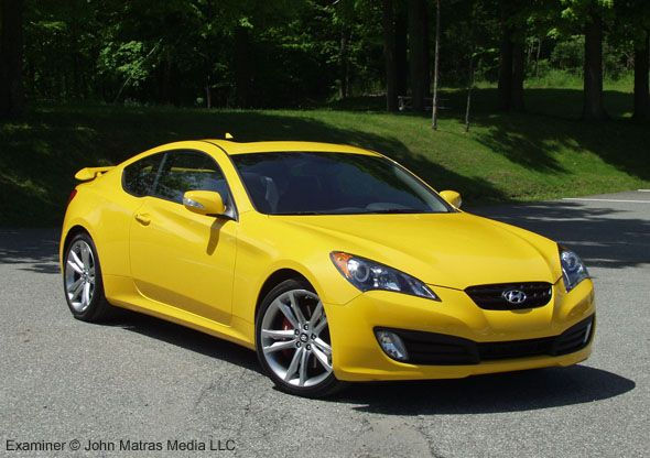 hyundai genesis coupe for lease