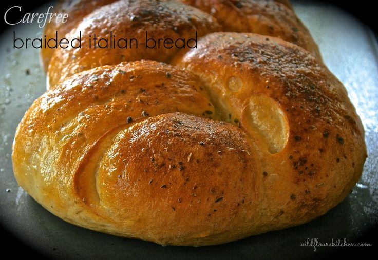 Carefree Braided Italian Bread (Easy!!) | Biscuits and Breads | Pinte ...
