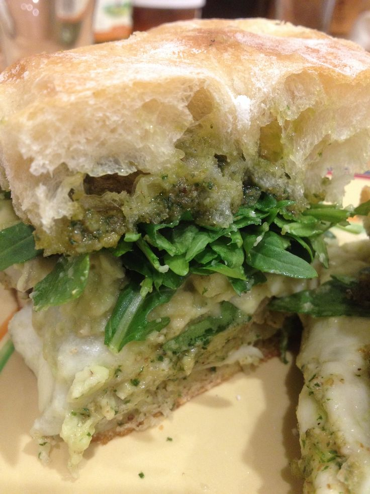 Avocado, Arugula, And Walnut Sandwiches Recipe — Dishmaps