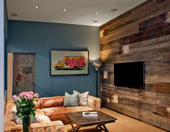 Wood Paneling Walls