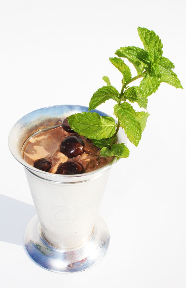 If a traditional mint julep isn't your style, try this Kentucky Derby ...