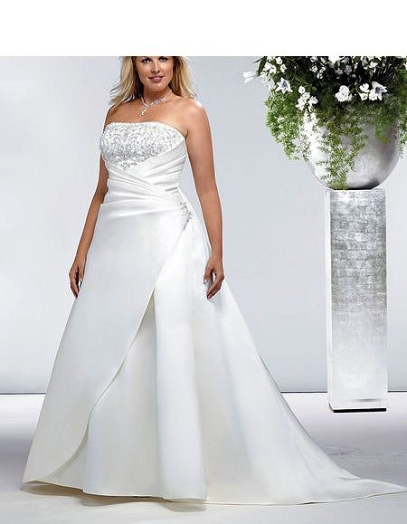 Pin by jante jenkins on the day i say i do pinterest for Designer wedding dresses plus size