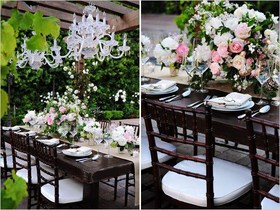 Elegant Back Yard Wedding Ideas
