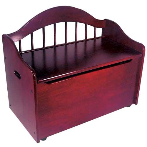 Cherry toy box bench taschen