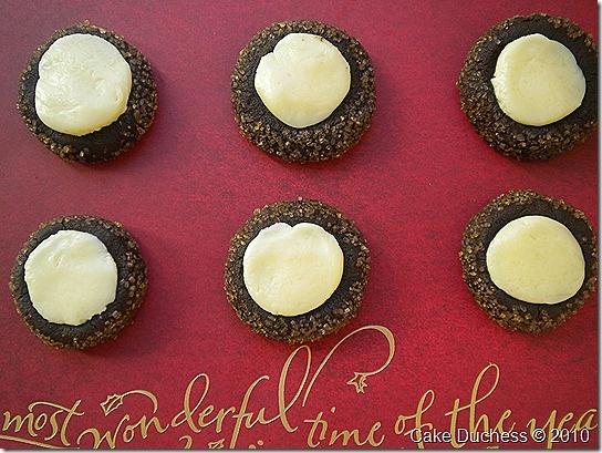 Chocolate Mint Thumbprints | Desserts!!!!